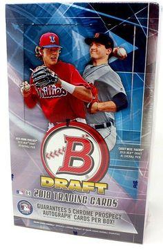 47285e22cdc 2018 BOWMAN DRAFT BASEBALL SUPER JUMBO 6 BOX CASE BLOWOUT CARDS   BaseballCards  collect  thehobby
