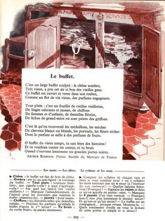 LE BUFFET - Arthur R