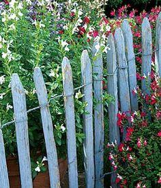 www.rustica.fr - Créer des barrières champêtres - Les ganivelles, de la plage au jardin