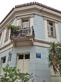 Irakleidon Str., Thision, Athens Attica Greece, Athens Greece, Bauhaus, My Athens, Greek House, Best Sites, Neoclassical, Greece Travel, City Life