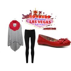 Vegas Outfit, with heels! No flats for me ever.