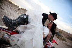 Dirt Bike oh dirt bike wedding pictures say what;) love it