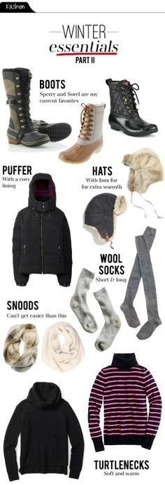 The Vault Files: Fashion File: Winter Essentials - Part II