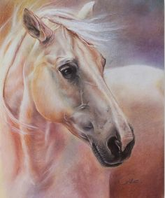 cuadros-al-oleo-cabezas-de-caballos.jpg (768×924)