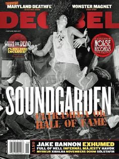 Soundgarden- Decibel mag, photo credit to Charles Peterson