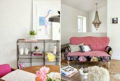 Otro piso muy femenino · Another feminine apartment