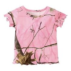 22d50ce3d88fa Bass Pro Shops Pink Camo T-Shirt for Babies or Toddler Girls - Realtree APC