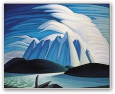 Art prints by Lawren Harris, Emily Carr, Tom Thomson and other members of the Group of Seven Canadian Painters. Tom Thomson, Emily Carr, Group Of Seven Artists, Group Of Seven Paintings, Canadian Painters, Canadian Artists, Landscape Art, Landscape Paintings, Winter Landscape