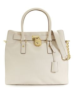 4571518fea36 MICHAEL Michael Kors Hamilton Tote with Gold Hardware Handbags    Accessories - Macy s