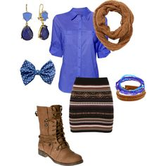 Fall for Denim, created by danicashea on Polyvore