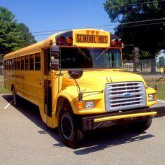 Old School Bus, Public School, School Buses, School Days, Thomas Ford, Retro Bus, County Schools, Vintage School, School Memories