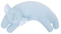 """Angel Dear Curved Pillows are versatile lightweight pillows with the sweetest faces. Machine washable with removable covers. 17""""X6""""X4"""".... http://www.sleepwellbaby.com/Angel-Dear-Elephant-Pillow-p/fb-2109.htm"""