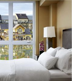 Heavenly Bed at the Westin Trillium House, Blue Mountain Ontario #WestinHeavenlyBed
