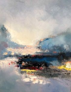 Abstract 217 by Jinsheng You. Abstract art, Oil Painting (not in www.allisonsprockfineart.com)