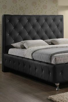 Quilted bed frame