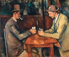 "PAUL CÉZANNE: ""The Card Players"", 1893-96"