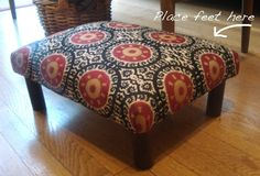 An Artful Nature: another footstool makeover