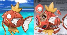 This Artist Imagines Pokemon With Fascinating Real-World Anatomy