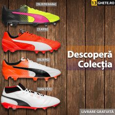 Aceasta este secțiunea unde vei găsi ghete de fotbal Puma.  #puma Cleats, Shoes, Fashion, Football Boots, Moda, Zapatos, Cleats Shoes, Shoes Outlet, Fashion Styles