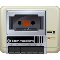 I love this old Commodore cassette deck.