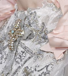 Fashion, Soft Grunge, Indie Photography & More † Christian Lacroix, Indie Photography, Blush Rosa, Mcqueen, Dior, Fairy Dress, Textiles, Glamour, Pink Outfits