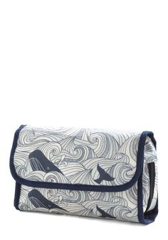 Swell Acquainted Travel Case - Multi, Blue, Travel, Quirky, Novelty Print, Nautical