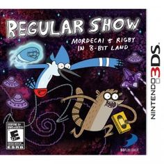 Regular Show: Mordecai & Rigby in 8-Bit Land for Nintendo 3DS