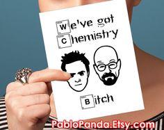 Breaking Bad Valentine Card  boyfriend card for by PabloPanda
