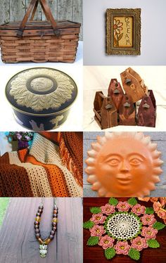 Beautiful Earthy Finds VintageUSA  by Nena on Etsy--Pinned with TreasuryPin.com