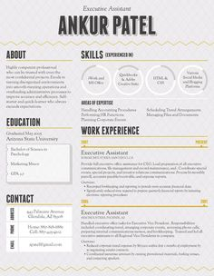Loft Resumes - Resume Template | Santiago Night Grey