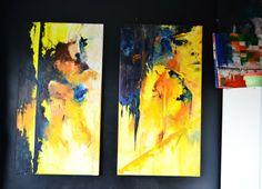 Sylwia Giza WZORNICTWO,  RĘKODZIEŁO,  HANDMADE,  Design: Olej na płótnie 60x110 cm