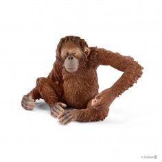 Schleich Wild Life Gorilla Männchen Affe Wildtier Spielfigur Spielzeug 14770