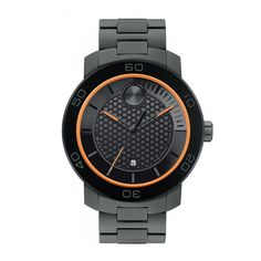 Movado Men's Bold Black Ion-plated Titanium Watch