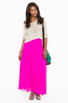 I know you're not supposed to indulge in a trend if you lived through it before, but I still want this neon skirt.