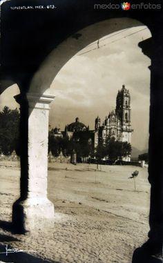 Fotos de Tepotzotlán, México, México: LA IGLESIA PANORAMA circa 1930-1950