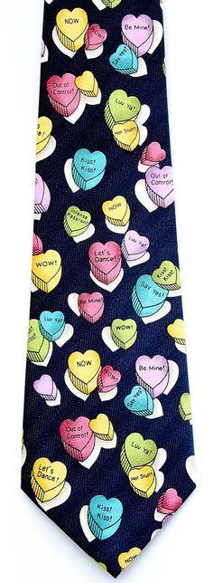 cupid garfield mens necktie heart valentines day funny gift him valentines day ties