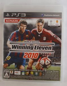 #‎PS3‬ Japanese : Winning Eleven 2010 BLJM-60176 ( VT022-J1 ) http://www.japanstuff.biz/ CLICK THE FOLLOWING LINK TO BUY IT ( IF STILL AVAILABLE ) http://www.delcampe.net/page/item/id,0362022827,language,E.html