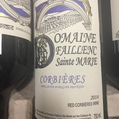 #Corbieres Rouge #Languedoc. #Grenache, #Syrah, #Cinsault. Smooth, with dark fruits & a savory backbone. BBQ perfect!