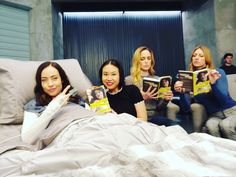 "Ramona Young on Instagram: ""Book clubbin this week's ""rebecca silver"" novel.... #legendsoftomorrow"" Legends Of Tomorrow Cast, Legends Of Tommorow, Between Serie, Dc Comics, Por Tras Das Cameras, Superhero Tv Shows, Dc Tv Shows, Supergirl And Flash, Funny Jokes"