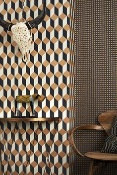 New Collection Cole & Son Geometric 2: Delano. Now available in our online shop: ethnicchic.com