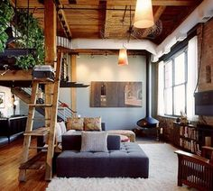 homey & vintage living room :)