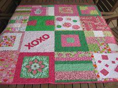 Pomegranate Quilts Pink Quilts, Pomegranate, Quilting, Blanket, Beautiful, Granada, Pomegranates, Fat Quarters, Blankets