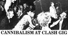 Shane MacGowan perpetrates 'Cannibalism at Clash gig,' 1976 | Dangerous Minds