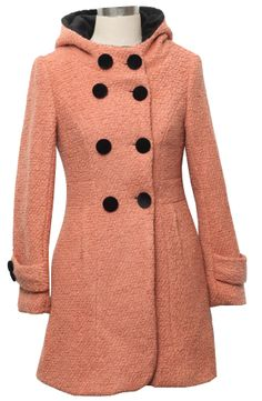 I'm a little obsessed with this coat. There's even a bow on the back!! CUUUTE!