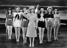 Who doesn't like a women in uniform?