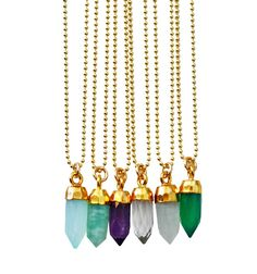 bullet point necklace (petite)