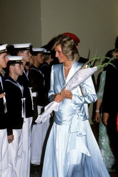 The Princess of Wales at the Royal Tournament at Earls Court, London