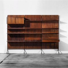 Furniture Friday Post | 012 Urio Wall Unit Designed by: Ico and Luisa Parisi.  Year: 1958 #raptstudio #furniturefriday #parisi