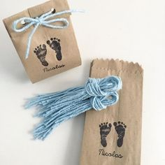 Ideas Para Fiestas, Diy For Kids, I Shop, Diy And Crafts, Gift Wrapping, Place Card Holders, Baby Shower, Gifts, Bread Bags
