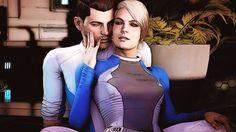 Scott Ryder x Cora Harper (Telltale Games edition) by Marco124.deviantart.com on @DeviantArt